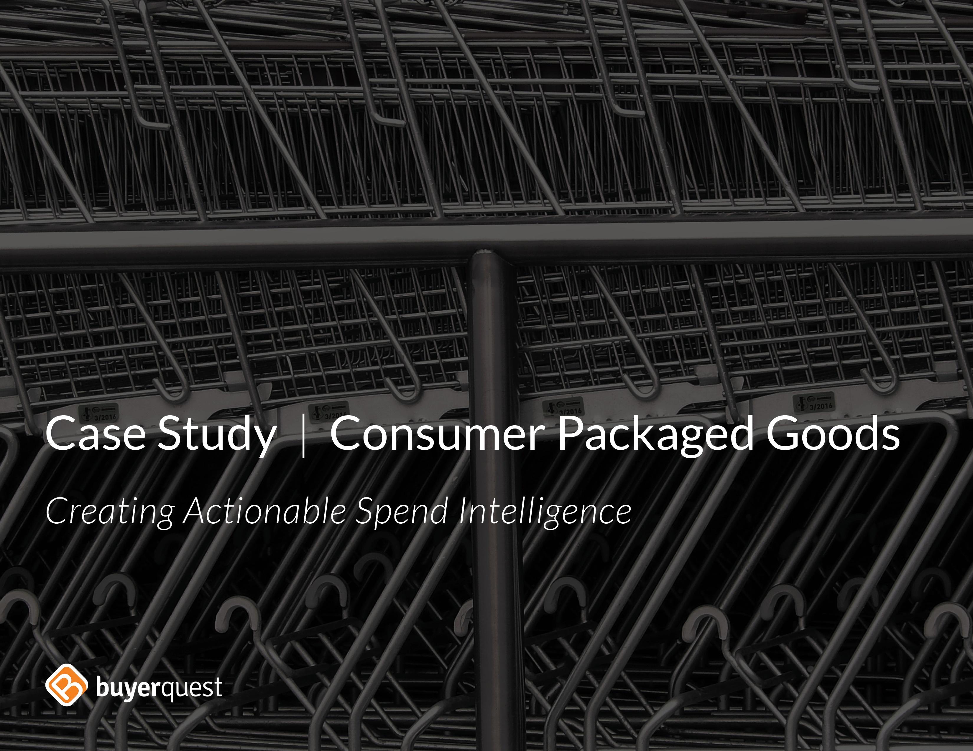Consumer Packaged Goods
